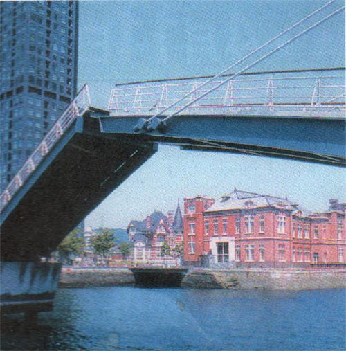 ハネ橋も中々いい感じです。
